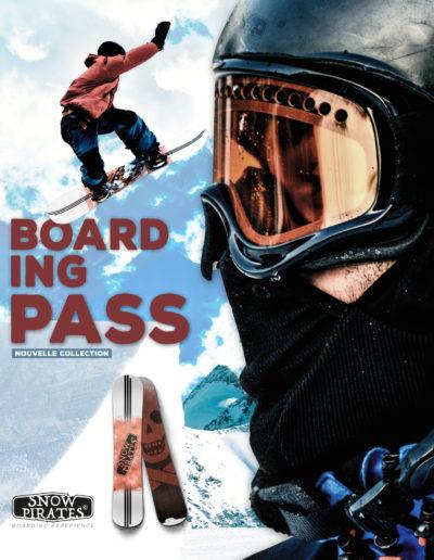 Affiche Snowboard Display Sport